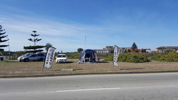 Ironman 2017 field station.