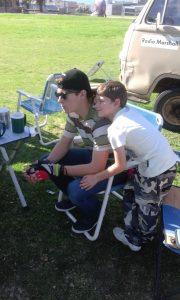 Graydon ZU2GH with Ryan